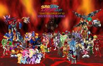 Ed, Edd, 'n Eddy's Super Secret Crisis War The Next Millennium Battles - (Season 1) Master Org's Revenge Poster