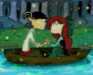 Eddalex kiss the girl by darkenedsparrow-d568fbi