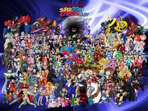 Ed, Edd, 'n Eddy's Super Secret Crisis War The Next Millennium Battles Poster (Version 2)