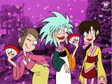 The Kimono Sisters
