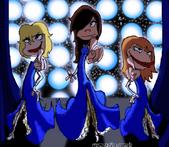Eene musical trio 2 girls by misjudgment-d30w5q4