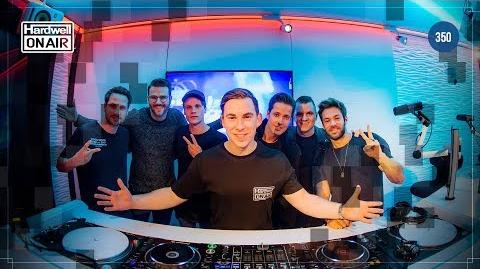 Hardwell On Air 350 LIVE from Amsterdam HOA350