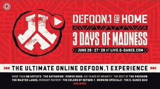 The Prophet live at the UV Stage of Defqon.1 2020