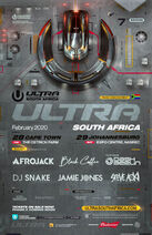 Ultra Music Festival South Africa 2020 Lineup Phase 1