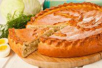 Пирог с капустой
