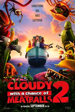 8 Cloudy With a Chance of Meatballs 2
