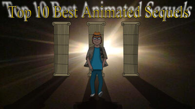 Top 10 animated sequels by animat505-d4jpr2i