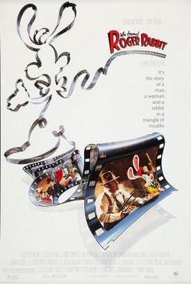 Movie poster who framed roger rabbit