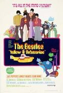 Beatles Yellow Submarine move poster