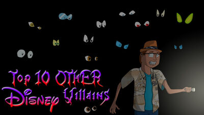 Top 10 other disney villains by animat505-d6sb5mr