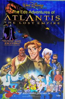 The Eds Adventures of Atlantis The Lost Empire