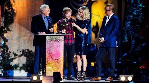 Ed Sheeran - BBC Music Awards British Artist Of The Year 2014