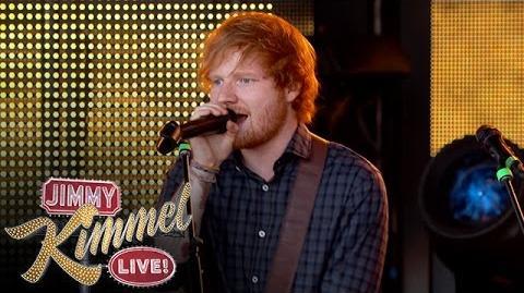 "Ed Sheeran Performs ""Don't"""