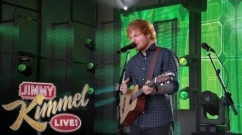 """Ed Sheeran Performs """"Sing"""""""