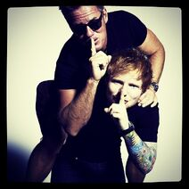 Ed Sheeran and Ben Watts