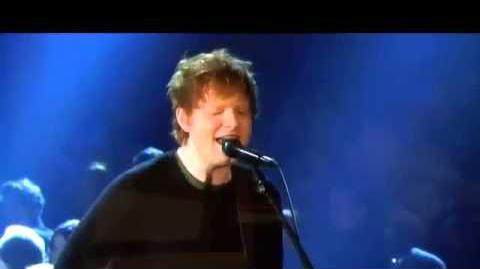Grammy Awards 2013 Ed Sheeran & Elton John - The A Team