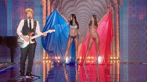 The Victoria's Secret Fashion Show - Ed Sheeran Performance