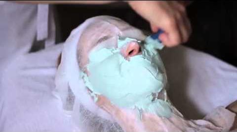 Zabieg nawilżający z maską gipsową