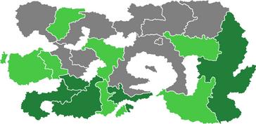 Вандальская Ось карта