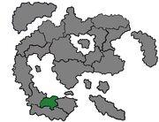 Виолонсия на карте