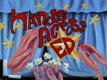 Hands Across Ed Titlecard
