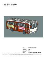 City Bus with Front Door