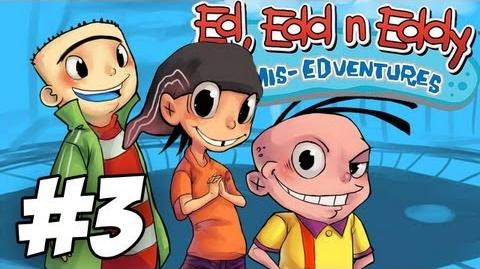 Ed, Edd n Eddy The Mis-Edventures Walkthrough Must Be Something I Ed Part 3 (Xbox PS2 Gamecube)