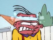 Eddy's head is over heated.