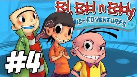 Ed, Edd n Eddy The Mis-Edventures Walkthrough Ed-Zilla Part 4 (Xbox PS2 Gamecube)