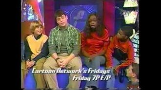 Cartoon Network's Fridays - 2003 2004 Block Promos