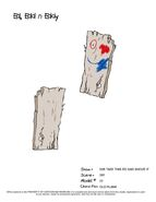Old Plank Front and Back
