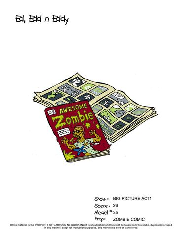 File:Zombie Comic in Ed's Room.jpg