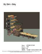 Upright Conveyor - Kevin's bike