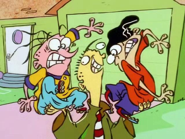 Ed, Edd, 'n' Eddy - The Day The Ed Stood Still (S3E11B)