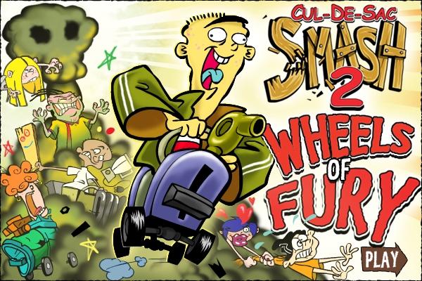 Cul De Sac Smash 2 Wheels Of Fury Ed Edd N Eddy Fandom Powered