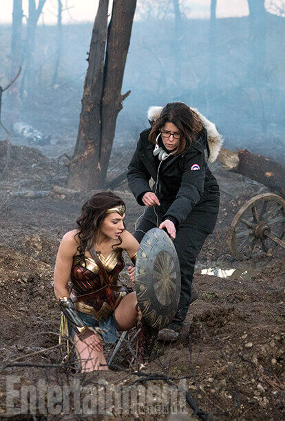 Gal Gadot and Director Patty Jenkins bring the first Wonder Women feature to the big screen