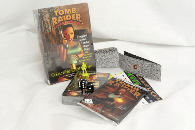 Tomb Raider: The Collectible Card Game