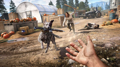 First 'Far Cry 5' Gameplay Trailer Features Dogs Stealing Guns