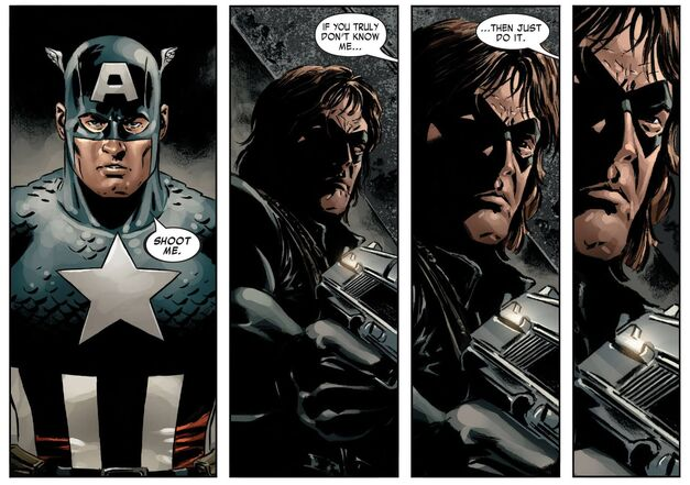 Captain America Winter Soldier Bucky Barnes 003