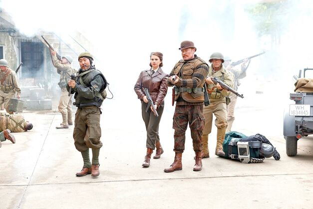 Peggy-Carter-Howling-Commandos-blast-onto-Agents-of-SHIELD
