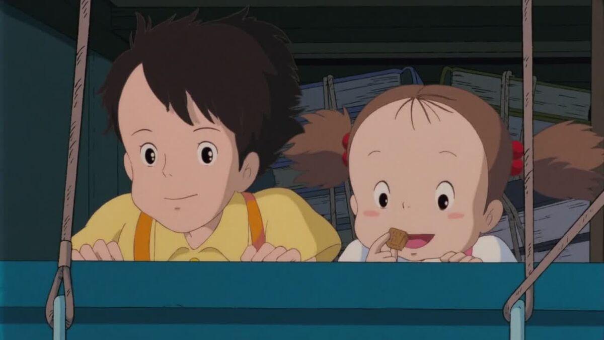 Satsuki and Mei, My Neighbor Totoro