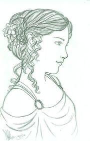 Greek girl by miriamartist