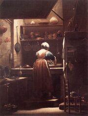 8778-the-scullery-maid-giuseppe-maria-crespi