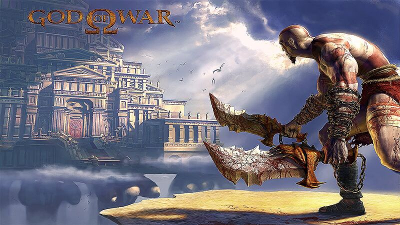 The first God of War promotional image