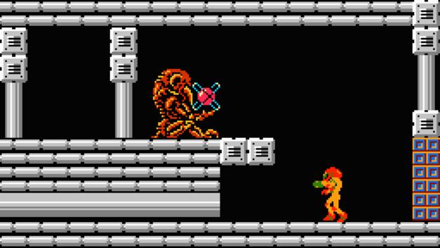 Metroid NES 1986 NES Nintendo Chozo