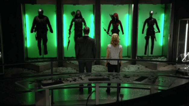 The New (And Very Shorthanded) Team Arrow
