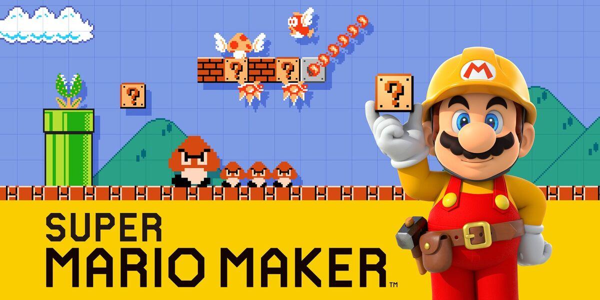 Super Mario Maker cover