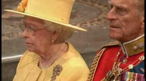 God save the Queen - Royal Wedding.