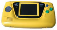 Yellow Game Gear