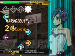 Dance Dance Revolution X gameplay